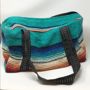 Handbags - Serape Duffle Bag